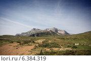 Гора. Стоковое фото, фотограф Максим Кожушко / Фотобанк Лори