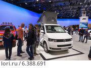 Купить «Международный автосалон. Общий вид.», фото № 6388691, снято 3 сентября 2014 г. (c) Павел Лиховицкий / Фотобанк Лори