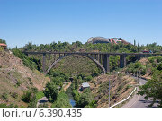 Большой мост Раздан (Мост Киевяна), Ереван, Армения (2014 год). Стоковое фото, фотограф VahanN / Фотобанк Лори
