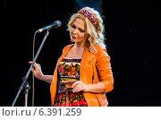 Певица Пелагея (2014 год). Редакционное фото, фотограф Елена Корепанова / Фотобанк Лори