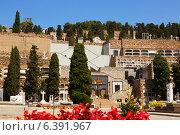 Купить «Montjuic Cemetery in Barcelona», фото № 6391967, снято 20 июля 2014 г. (c) Яков Филимонов / Фотобанк Лори