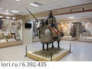 Купить «Тюркский тяжеловооруженный воин на коне, Омский краеведческий музей», эксклюзивное фото № 6392435, снято 9 сентября 2014 г. (c) Алексей Гусев / Фотобанк Лори