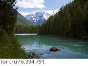 Алтай, озеро Малое Кучерлинское. Стоковое фото, фотограф Тимур Кузяев / Фотобанк Лори