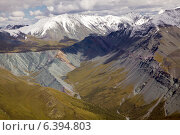 Алтай, вид на долину реки Ярлу. Стоковое фото, фотограф Тимур Кузяев / Фотобанк Лори