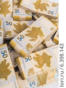 Stack of money in business concept. Стоковое фото, фотограф Elnur / Фотобанк Лори