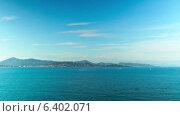 Купить «Французская ривьера, таймлапс», видеоролик № 6402071, снято 15 сентября 2014 г. (c) Алексас Кведорас / Фотобанк Лори