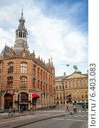 Купить «Бывший главный почтамт в Амстердаме, в настоящее время торговый центр, известный как Magna Plaza», фото № 6403083, снято 19 марта 2014 г. (c) EugeneSergeev / Фотобанк Лори