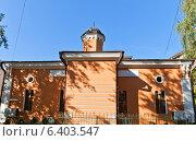 Купить «Московская историческая мечеть (1823 г.) на Большой Татарской улице в Москве», фото № 6403547, снято 15 сентября 2014 г. (c) Иван Марчук / Фотобанк Лори