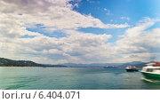 Купить «Французская Ривьера, таймлапс», видеоролик № 6404071, снято 15 сентября 2014 г. (c) Алексас Кведорас / Фотобанк Лори