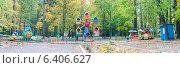Осенние карусели. Стоковое фото, фотограф Владимир Черкасов / Фотобанк Лори