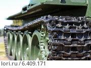Танковая гусеница (2014 год). Редакционное фото, фотограф СергейДорогов / Фотобанк Лори