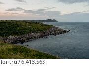 View of coast, Ferryland, Calvert, Avalon Peninsula, Newfoundland And Labrador, Canada (2013 год). Стоковое фото, агентство Ingram Publishing / Фотобанк Лори