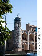 Купить «Ташкент - Медресе Кукельдаш», фото № 6416271, снято 2 июля 2014 г. (c) Мирсалихов Баходир / Фотобанк Лори