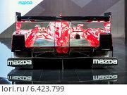 Купить «Mazda SKYACTIV-D Prototype. Московский международный автомобильный салон 2014», эксклюзивное фото № 6423799, снято 29 августа 2014 г. (c) Сергей Лаврентьев / Фотобанк Лори