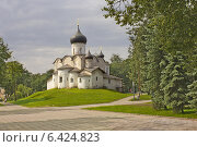 Купить «Церковь Василия на Горке (Псков)», фото № 6424823, снято 5 августа 2013 г. (c) Валентина Троль / Фотобанк Лори