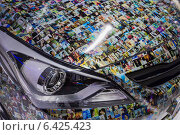Купить «Hyundai Solaris. Московский международный автомобильный салон 2014», эксклюзивное фото № 6425423, снято 29 августа 2014 г. (c) Сергей Лаврентьев / Фотобанк Лори