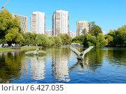 Купить «Воронцовский парк. Москва», фото № 6427035, снято 21 сентября 2014 г. (c) Марина Славина / Фотобанк Лори