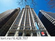 Купить «Woolworth Building in New York», фото № 6428707, снято 31 марта 2014 г. (c) Николай Охитин / Фотобанк Лори