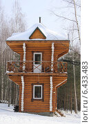 Смотровой деревянный домик (2009 год). Стоковое фото, фотограф Степанова М Е / Фотобанк Лори
