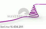 Купить «Ribbon swirling to form christmas tree shape», видеоролик № 6434291, снято 4 августа 2020 г. (c) Wavebreak Media / Фотобанк Лори