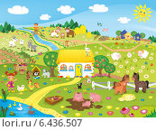Купить «Лето в деревне», иллюстрация № 6436507 (c) ivolodina / Фотобанк Лори