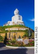 Купить «Большой Будда на острове Пхукет. Таиланд», фото № 6446843, снято 14 февраля 2013 г. (c) Олег Жуков / Фотобанк Лори