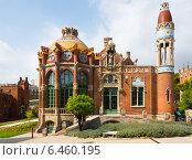 Купить «Hospital of the Holy Cross and Saint Paul in Barcelona», фото № 6460195, снято 13 сентября 2014 г. (c) Яков Филимонов / Фотобанк Лори