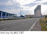 Купить «Москва. Ходынский бульвар», эксклюзивное фото № 6461747, снято 11 августа 2012 г. (c) Дмитрий Абушкин / Фотобанк Лори