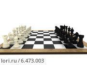 Купить «Black and white chess pieces on board», фото № 6473003, снято 26 декабря 2017 г. (c) Wavebreak Media / Фотобанк Лори