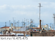 Антенны на крышах. Стоковое фото, фотограф Эдуард Данилов / Фотобанк Лори