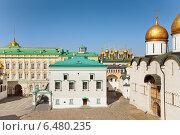 Купить «Грановитая палата на Соборной площади Московского Кремля», фото № 6480235, снято 3 июня 2014 г. (c) Сергей Новиков / Фотобанк Лори
