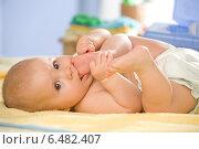 Купить «Little child portrait.», фото № 6482407, снято 22 мая 2019 г. (c) BE&W Photo / Фотобанк Лори