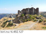 Купить «Армения, крепость Амберд 7-14 века», фото № 6492127, снято 13 сентября 2014 г. (c) Овчинникова Ирина / Фотобанк Лори