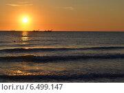 Восход солнца. г. Альба-Адриатика. Стоковое фото, фотограф Рада Тумашкова / Фотобанк Лори