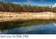 Белые берега. Стоковое фото, фотограф Эдуард Сычев / Фотобанк Лори