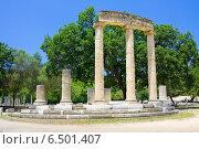 Купить «Филиппейон, Олимпия, Греция», фото № 6501407, снято 13 июня 2014 г. (c) Papoyan Irina / Фотобанк Лори