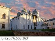 Купить «Софийский собор. Великий Новгород», фото № 6503363, снято 21 октября 2018 г. (c) Зезелина Марина / Фотобанк Лори
