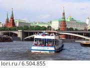 Москва - река (2014 год). Редакционное фото, фотограф Чулпан Нигметзянова / Фотобанк Лори