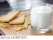 Стакан молока. Стоковое фото, фотограф Сергей Иванов / Фотобанк Лори