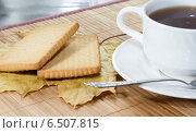 Чашка чая. Стоковое фото, фотограф Сергей Иванов / Фотобанк Лори