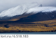 Шпицбе́рген, также Сва́льбард, Гру́мант — обширный полярный архипелаг, расположенный в Северном Ледовитом океане. Норвегия (2014 год). Стоковое фото, фотограф Дмитрий Черевко / Фотобанк Лори