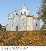 Купить «Собор Иоанна Предтечи 12 века осенью (Псков)», фото № 6518367, снято 7 октября 2014 г. (c) Валентина Троль / Фотобанк Лори