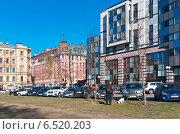 Купить «Город Санкт-Петербург. Зеленинский сад», фото № 6520203, снято 23 апреля 2014 г. (c) Зобков Георгий / Фотобанк Лори