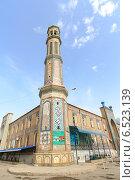 Мечеть Хаджи Якуб. Таджикистан. Душанбе (2014 год). Редакционное фото, фотограф Никита Майков / Фотобанк Лори