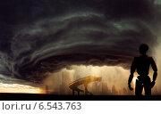 Будущее без нас, апокалипсис. Стоковая иллюстрация, иллюстратор Андрей Гашев / Фотобанк Лори