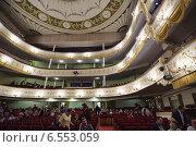 Купить «Московский театр оперетты», фото № 6553059, снято 18 октября 2014 г. (c) Олег Смагин / Фотобанк Лори