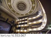 Купить «Московский театр оперетты», фото № 6553067, снято 18 октября 2014 г. (c) Олег Смагин / Фотобанк Лори