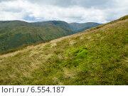 Вид с Бейн Дабх (Beinn Dudh) в национальном парке Троссакс (Шотландия). Август. Стоковое фото, фотограф Анатолий Палатов / Фотобанк Лори