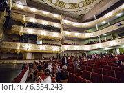 Купить «Московский театр оперетты», фото № 6554243, снято 18 октября 2014 г. (c) Олег Смагин / Фотобанк Лори