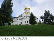 Звенигородский монастырь. Стоковое фото, фотограф Илья Хаскин / Фотобанк Лори